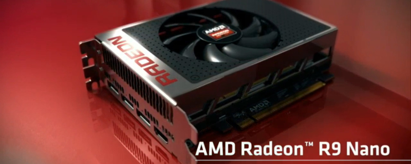 AMD R9 Fury Nano pictured