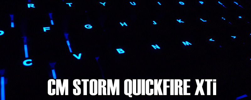 CM Storm Quickfire XTi Review