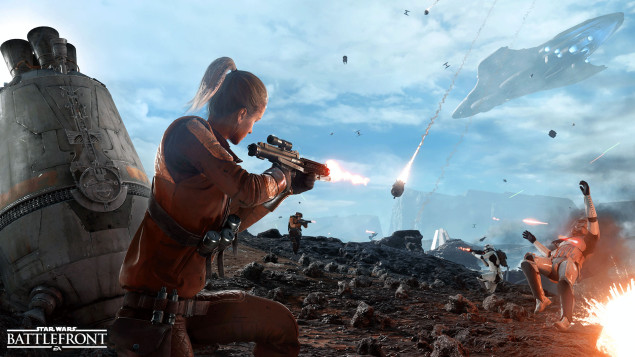 EA details Star War Battlefront's