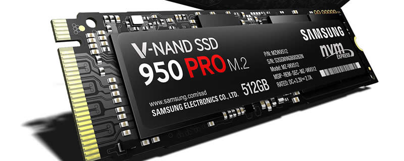 Samsung Announces the 950 PRO Consumer M.2 PCIe SSD