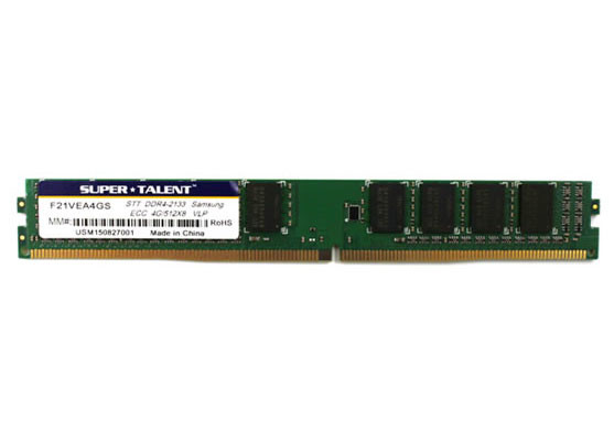 Super Talent Unveils Low profiles 4GB DDR4 Modules