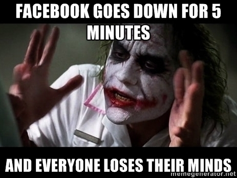 Facebook was down! Perpare for Memes