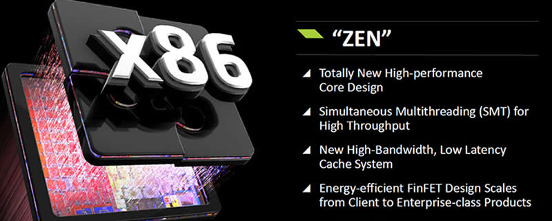 AMD's Zen core has double the number crunching performance of Steamroller