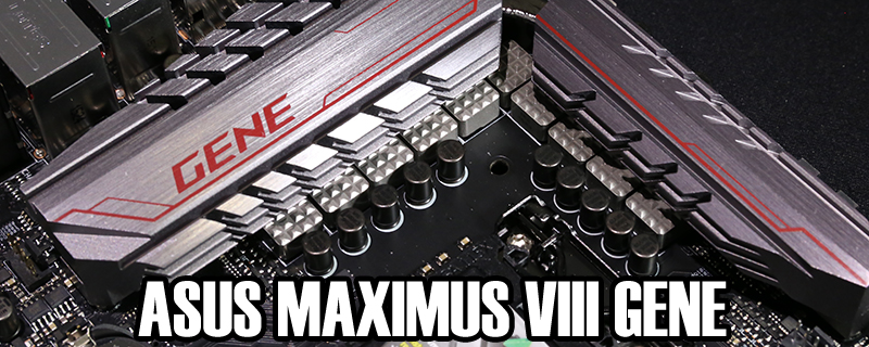 ASUS Z170 Maximus VIII Gene Review