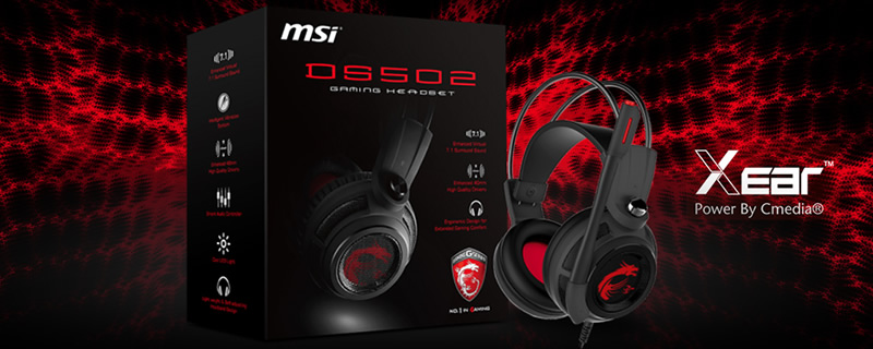 MSI DS502 7.1 Gaming Headset