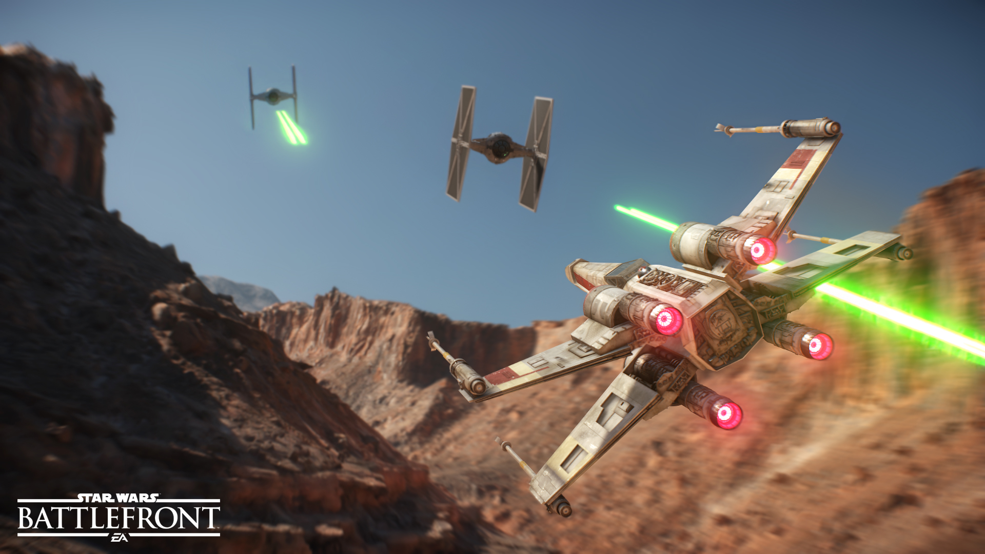 DICE Sacrificed Resolution for higher framerate in Star Wars Battlefornt
