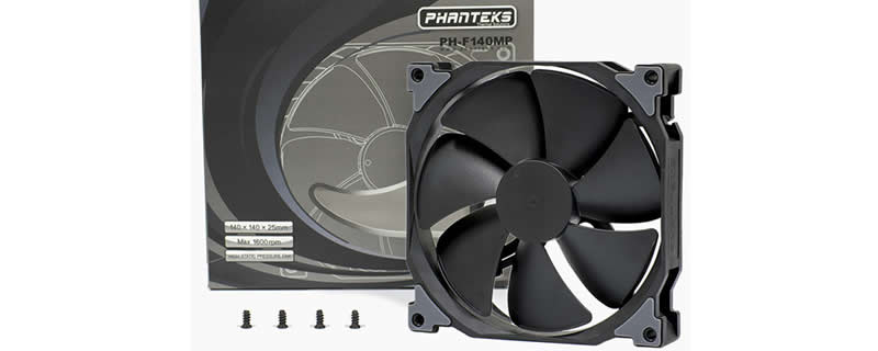 Phanteks Announces the MP and SP Series Black Edition Fans