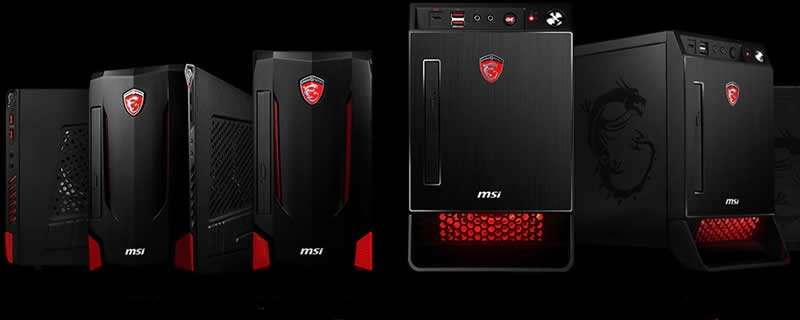 MSI Launches the Nightblade X2 and MI2 Gaming Desktops