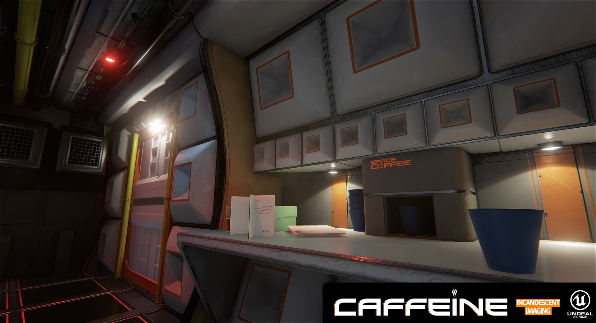 Caffeine, the first DX12 game has been released