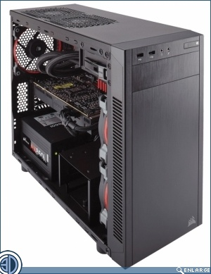 Corsair Carbide 88R Micro ATX Case