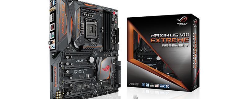 ASUS ROG Maximus VIII Extreme-Assembly and GTX 980 Ti Matrix