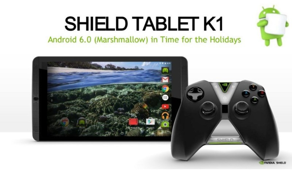Nvidia promises a Android 6.0 Marshmallow Shield Update before Christmas