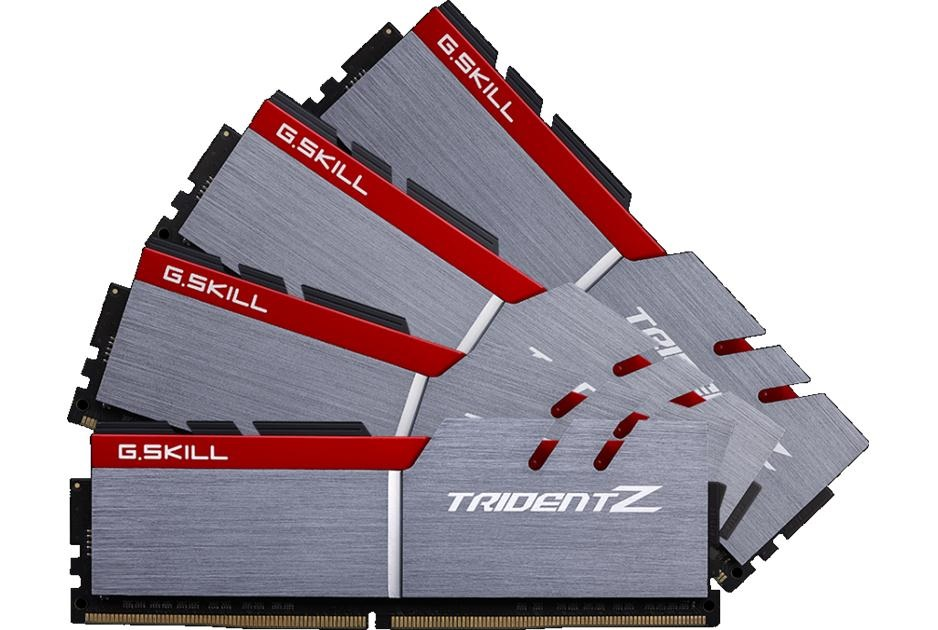 G.SKILL Boosts DDR4 8GB Module Speed Up to 4133MHz 16GB