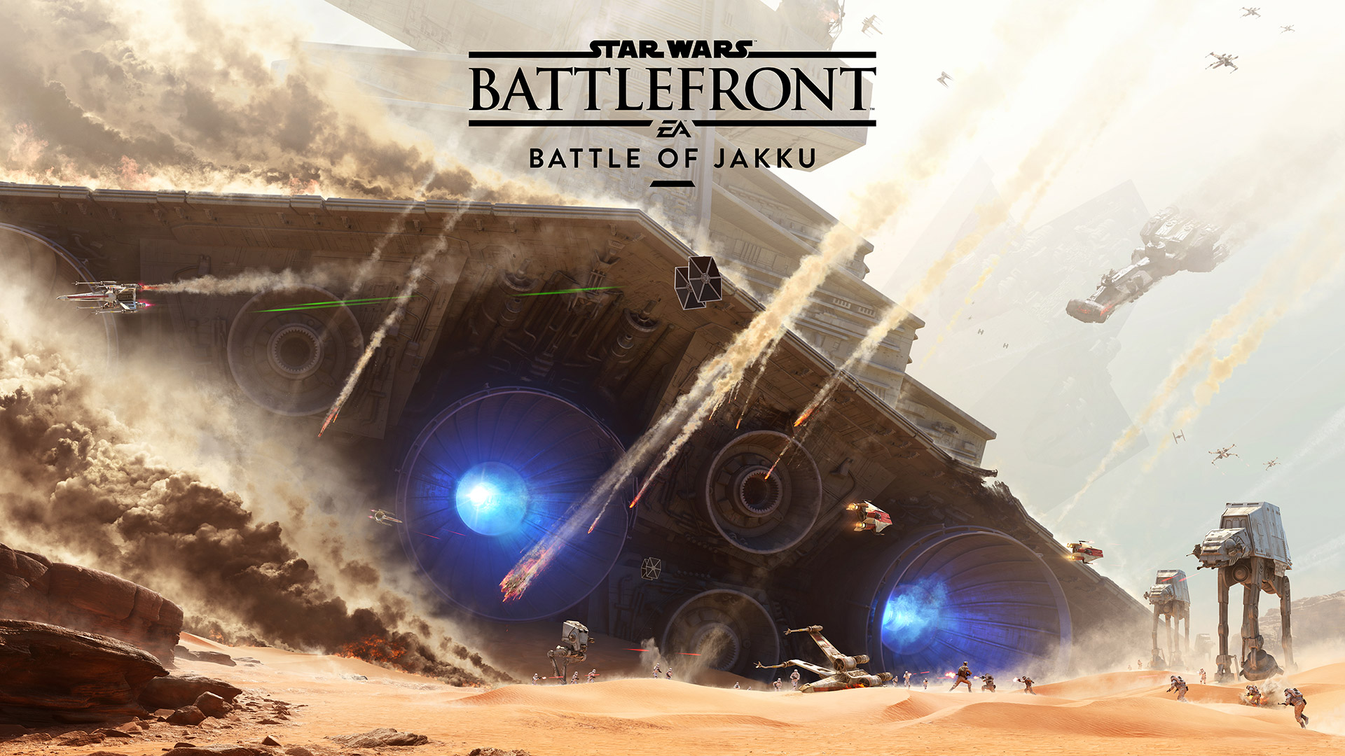 Star Wars Battlefront - New map and Game Mode on December 1st