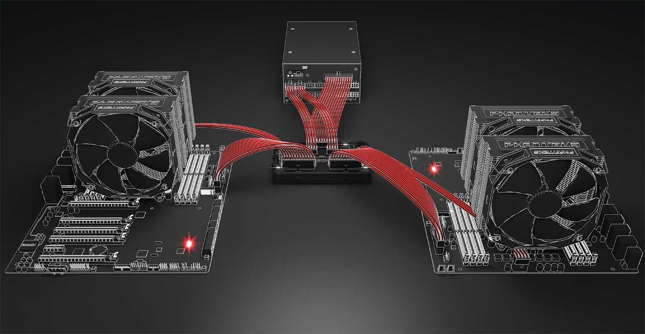 Phanteks Announces Power Splitter with Patented Isolated Dual System Technology