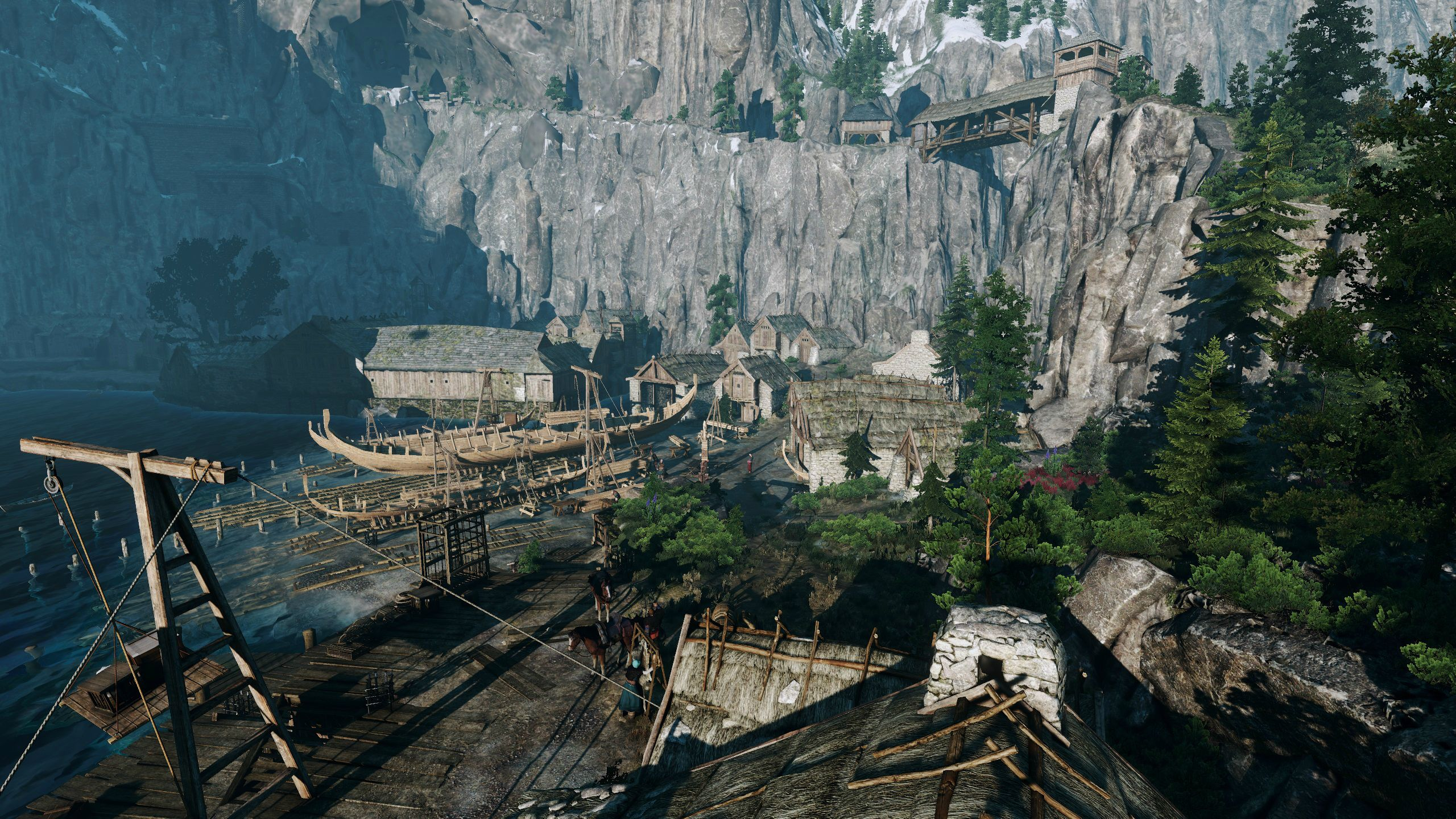 The Witcher 3: Wild Hunt High Res Texture mod and Draw distance mod released