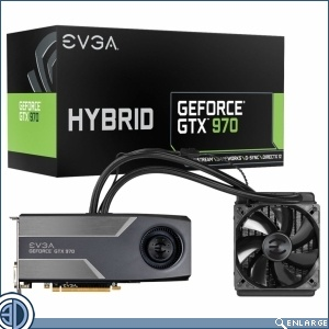 EVGA Announces GTX 970 HYBRID Graphics Card