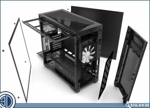 Phanteks Announces Enthoo Pro M Acrylic Window Edition Chassis