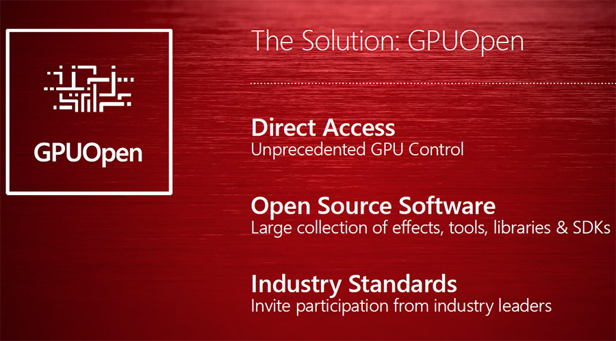 GPUOpen - AMD's Answer to GameWorks