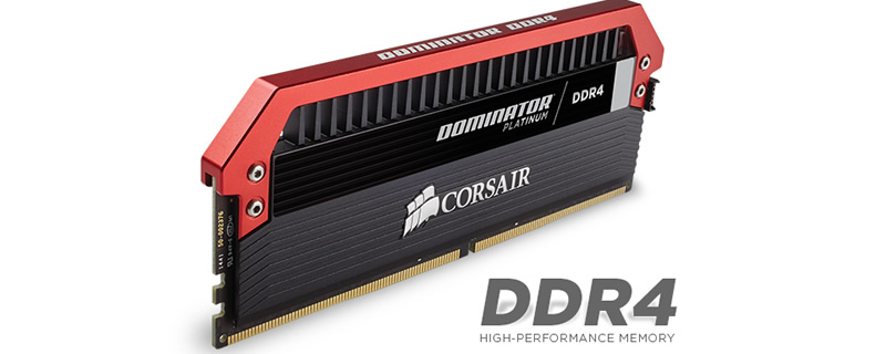 Corsair DDR4 Dominator Platinum with Sexy Red tops