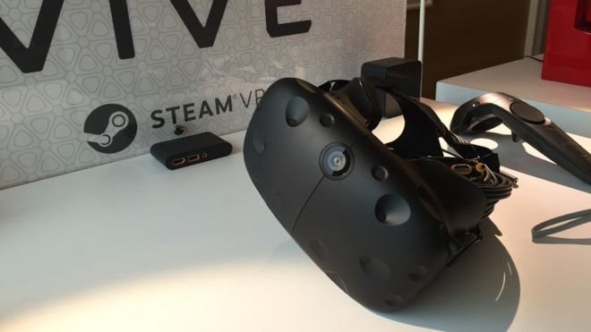 The HTC Vive will have a front facing camera