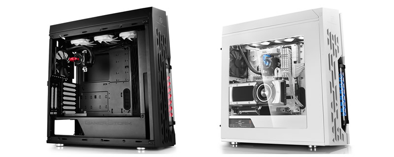 Deepcool GENOME chassis with Integrated 360mm AIO Water cooler