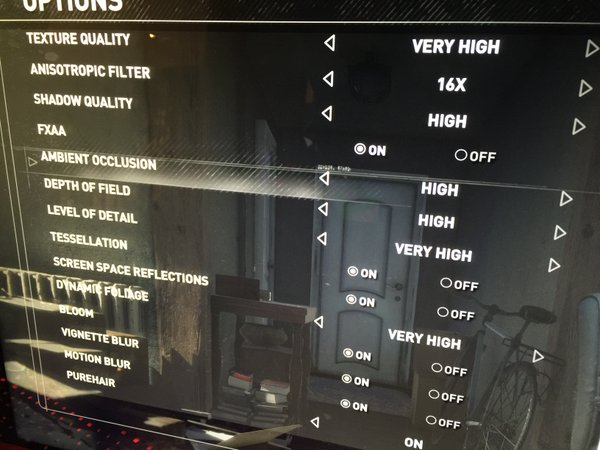 Rise of the Tomb Raider â?? PC Graphics Settings Menu
