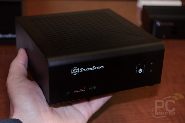 SilverStone shows off an early Mini-STX enclosure - Smaller than ITX