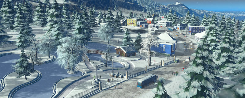Cities: Skylines Snowfall Expansion