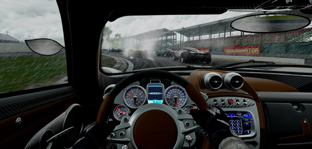Project Cars will be updated to support the Oculus Rift at Launch