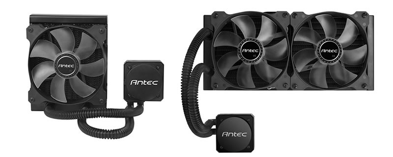 Antec Kuhler H2O H600 Pro and H1200 Pro CPU Liquid Coolers