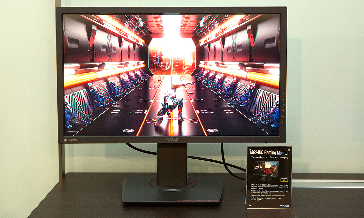 ASUS show off MG 4K Series of FreeSync displays