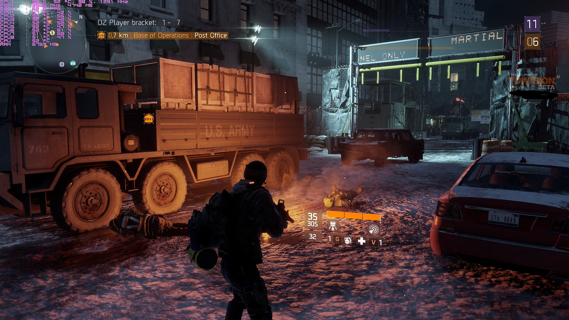 The console version of the Division will have a PC like options menu