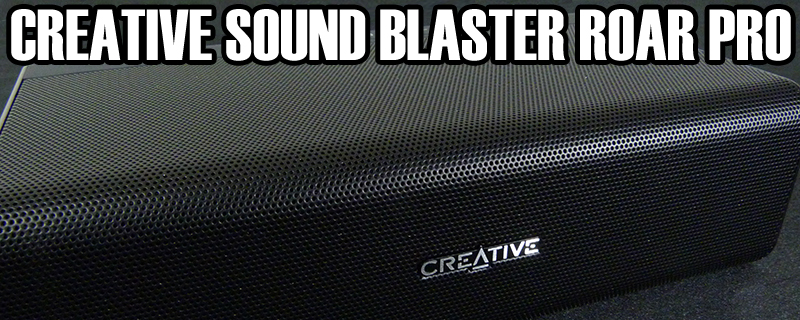 Creative Sound Blaster Roar Pro Review