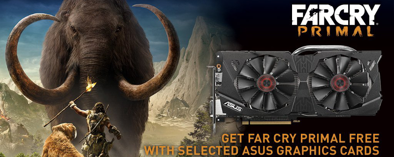 ASUS Giving away Far Cry Primal codes with select GPUs