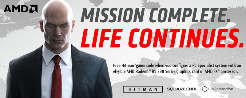 Hitman to come bundled with AMD select CPUs and GPUs