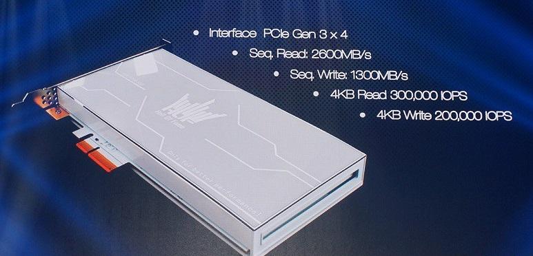 Galax/KFA2 to Release HOF Series PCIe NVMe SSD