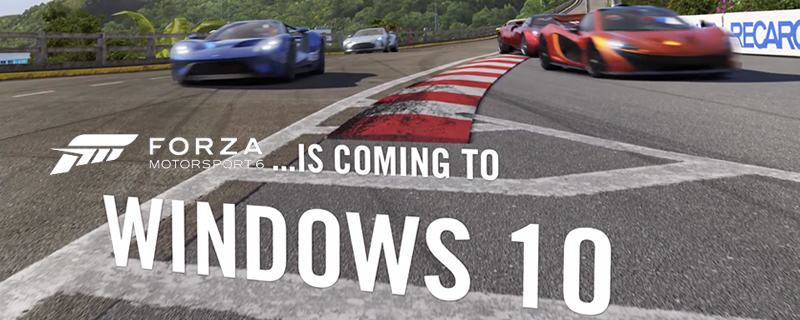 Forza Motorsport 6: Apex is coming to PC