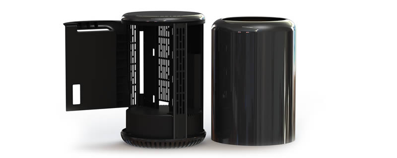 Mac Pro like Dune Case is on Kickstarter