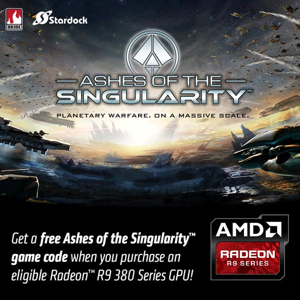 Ashes of the Singularity now comes free with AMD R9 380 GPUs