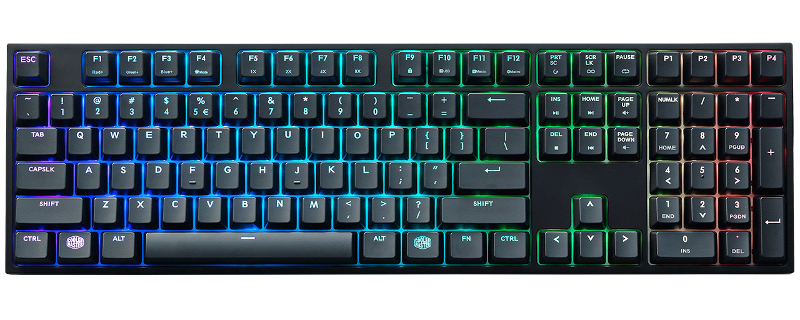 Cooler Master Announce their MasterKeys Pro Series of RGB Keyboards