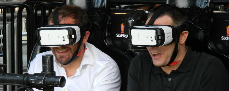 VR Roller Coasters could be the future
