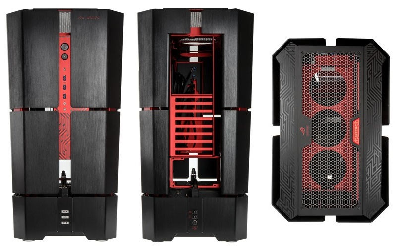 In-Win H-Tower Motorized Case Review