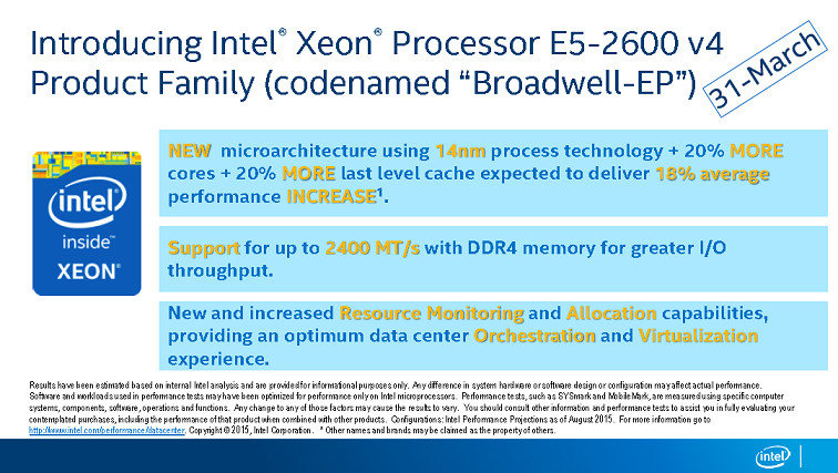Broadwell-E Xeon CPUs could launch by the end of the month