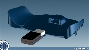 Steam Controller CAD 3D Model Release