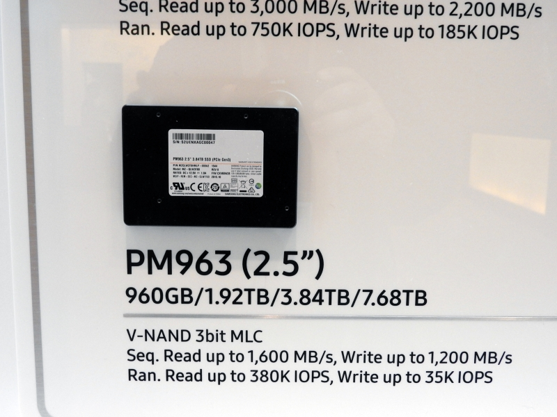 Samsung introduce 7.68TB 2.5