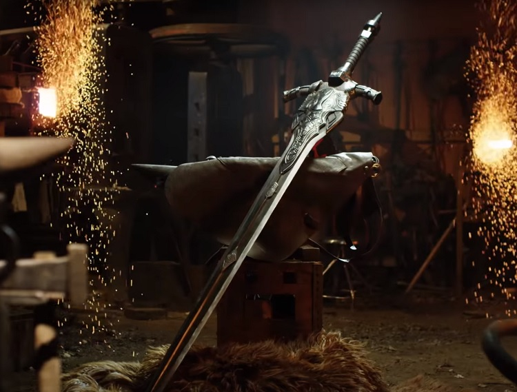 Man at Arm forge the Great Sword of Artorias