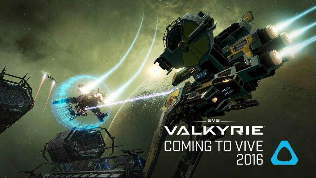 Eve Valkyrie will be coming to the HTC Vive later this year