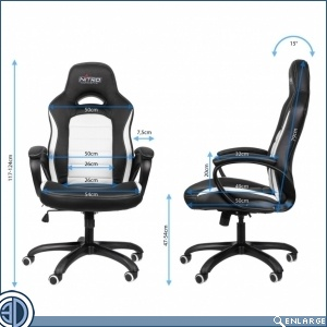 Overclockers UK stocks Nitro Concepts' C80 Carbon Class gaming chairs