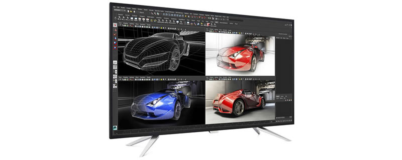 Philips launches 43-inch 4K IPS PC monitor